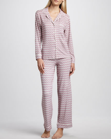 Sleep Chic Zigzag Pajamas