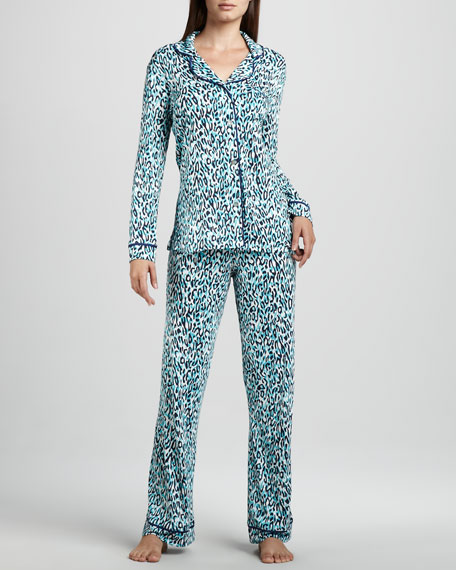 Bella Animal-Print Pajamas