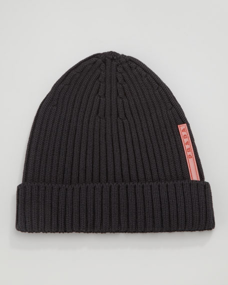 Knit Logo Beanie