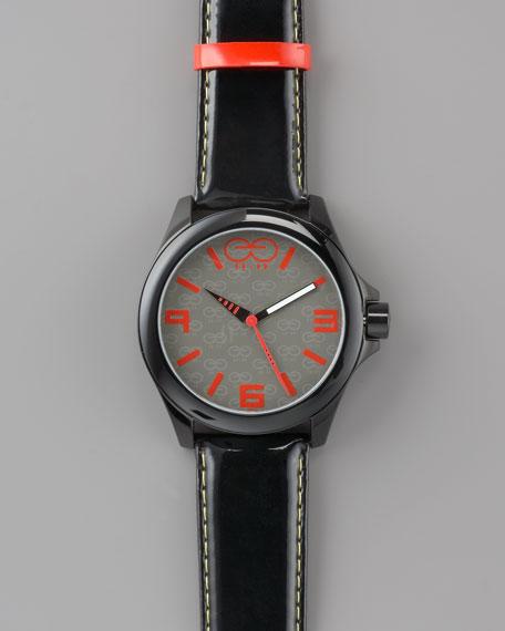 47mm Aluminum Watch, Black