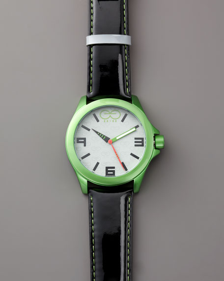 Eleven Eleven Aluminum Watch, Green