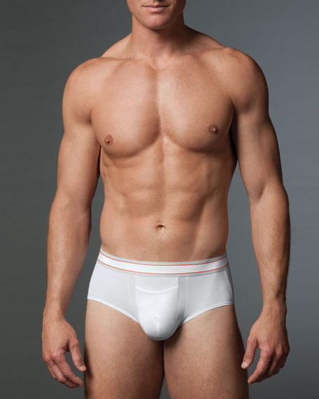Brief, White