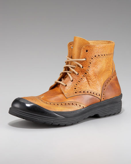 Oswald Wing-Tip Boot