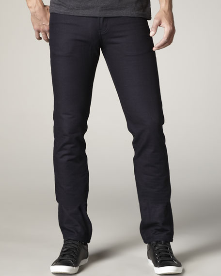 WeirdGuy Blanket-Lined Indigo Jeans