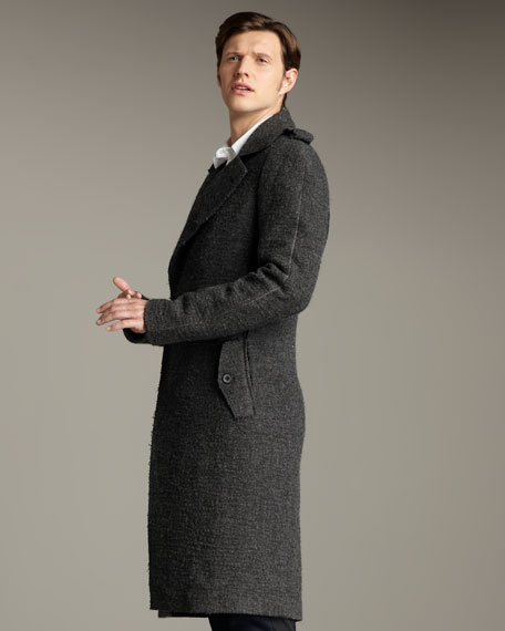 Long Epaulet Coat