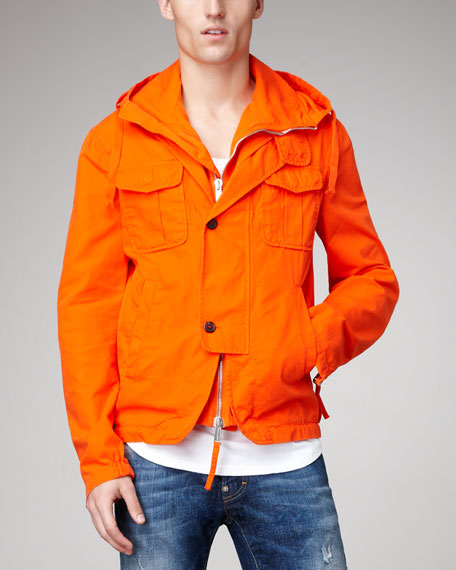 Hooded Travel Jacket