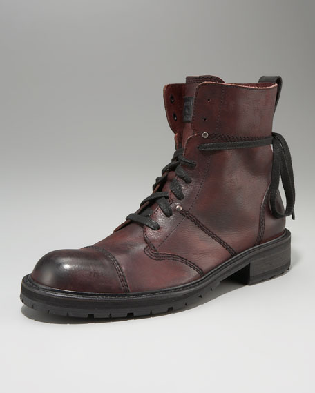 Brighton Addler Cap-Toe Boot