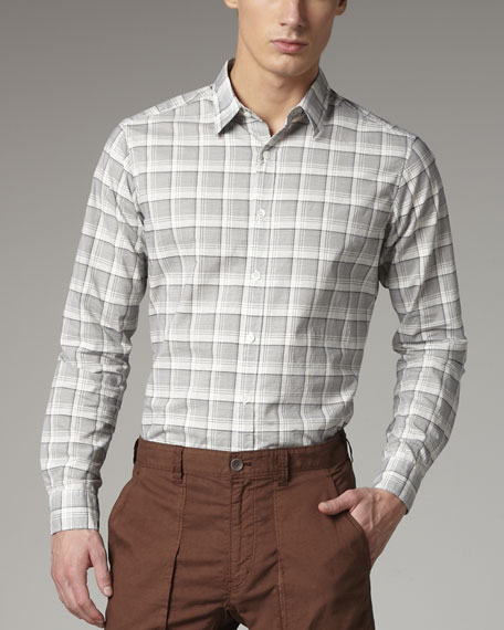 Plaid Sport Shirt, Lead
