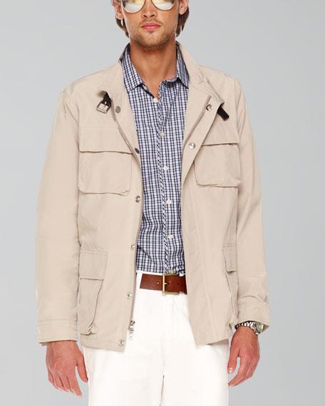 Belted Utility Jacket