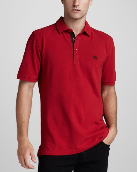Equestrian Knight Polo, Military Red
