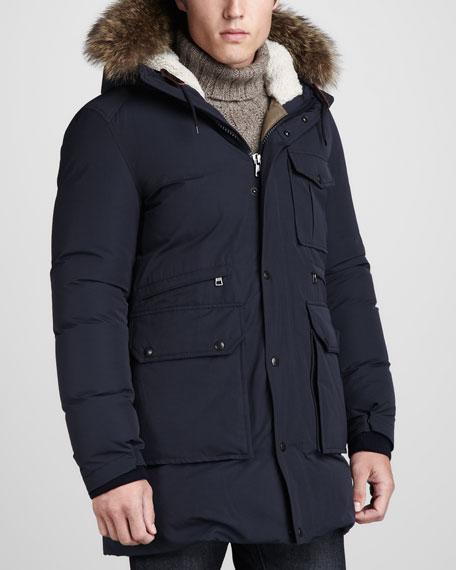 Dimont Fur-Trim Parka