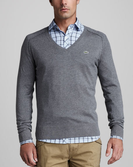 Cotton-Cashmere Raglan Sweater