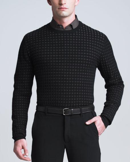 Box-Stripe Sweater