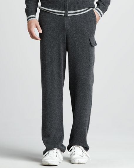 Cashmere Cargo Pants