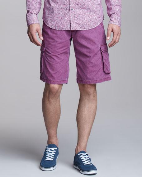 Overdyed Cargo Shorts