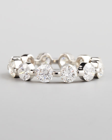 3 Carat Purity Eternity Band, Size 6