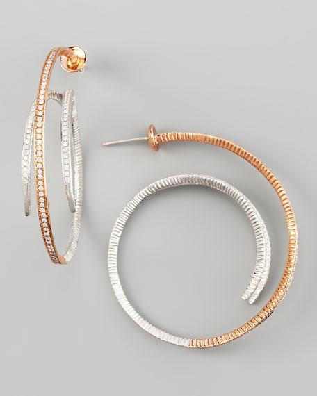 Destiny Two-Tone Earrings