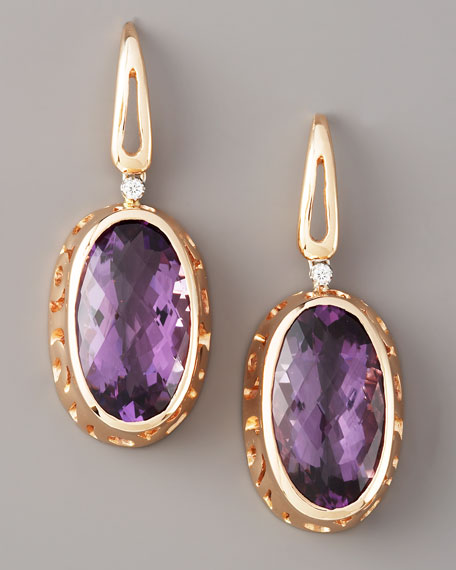 Amethyst Mauresque Earrings