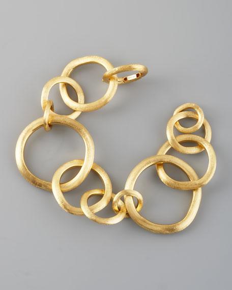 Jaipur Gold Link Bracelet, Large