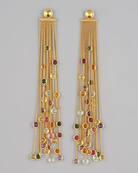 Jaipur Multicolor Fringe Earrings