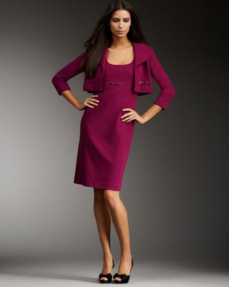 Ponte Knit Dress & Jacket