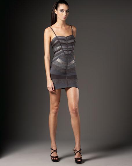 Chevron Bandage Dress