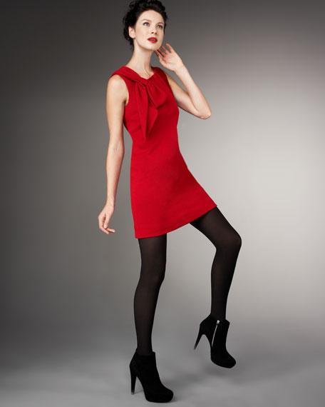 Nicole Bow Shift Dress