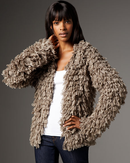 Tyler Fantasia Shaggy Jacket