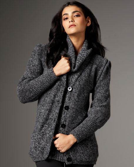 Tweed Boyfriend Cardigan