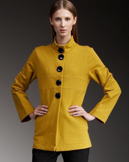 Empire-Waist Tunic Jacket