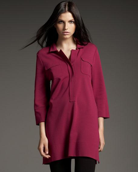 Knit Shirt Tunic