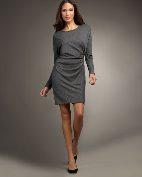 DKNY Dolman-Sleeve Dress