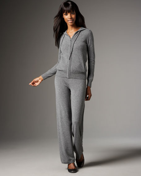 Boxed Cashmere Tracksuit Set, Women's