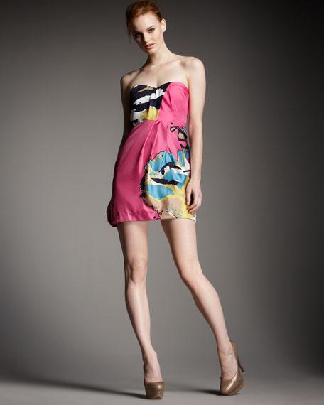 Behati Strapless Dress