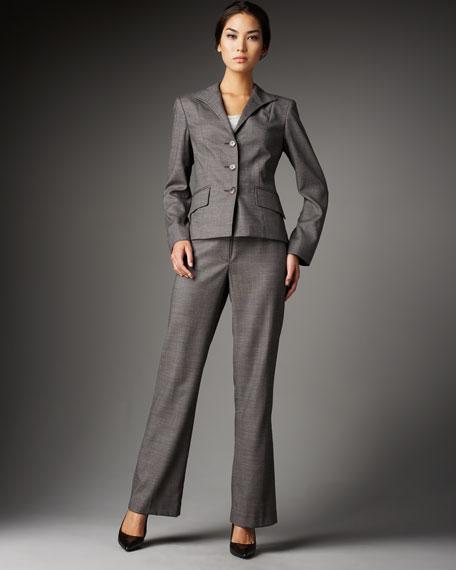 Menswear Herringbone Pants