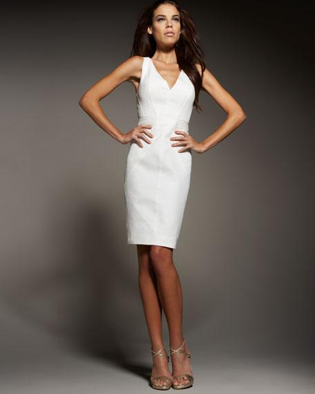 Pique Cocktail Dress
