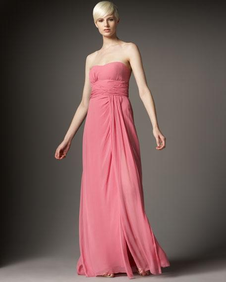 Crinkle Chiffon Dress