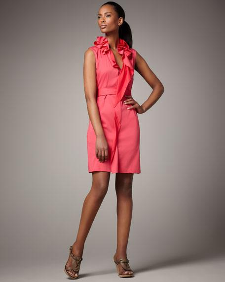 Camille Poplin Dress