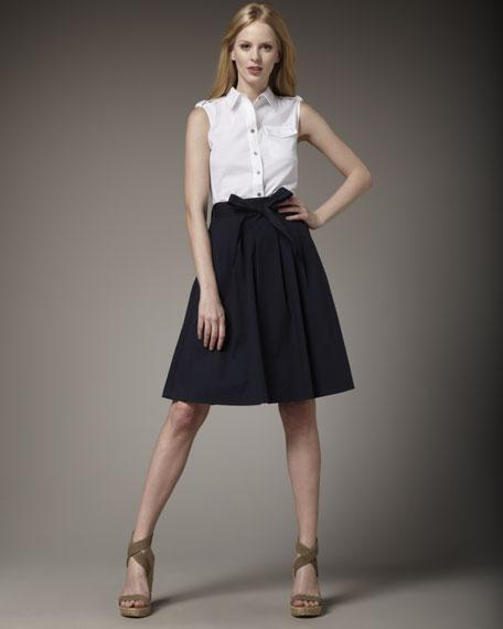 Fiona Tie-Waist Skirt