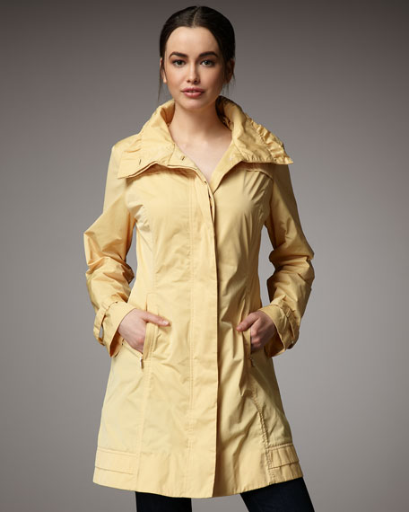 Rainforest Packable Lace-Up Coat