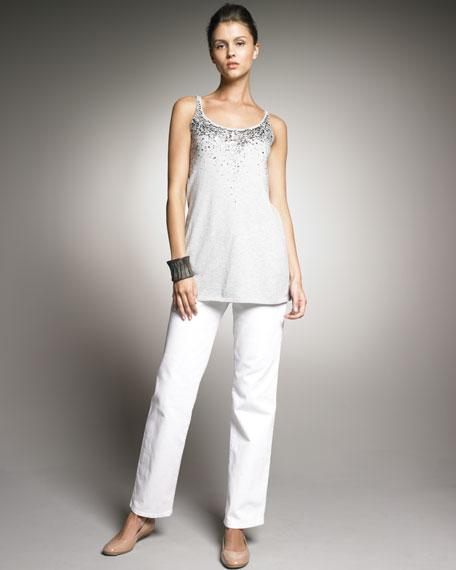 Eileen Fisher Straight-Leg Jeans