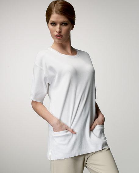 Cotton Pocket Tunic, Women's