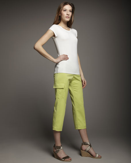 Andrea Cropped Cargo Pants