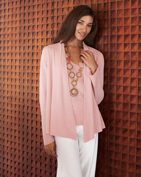 Linen Cardigan, Women's