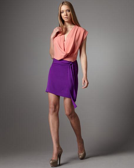 Reara Two-Tone Dress