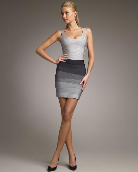 Ombre Miniskirt