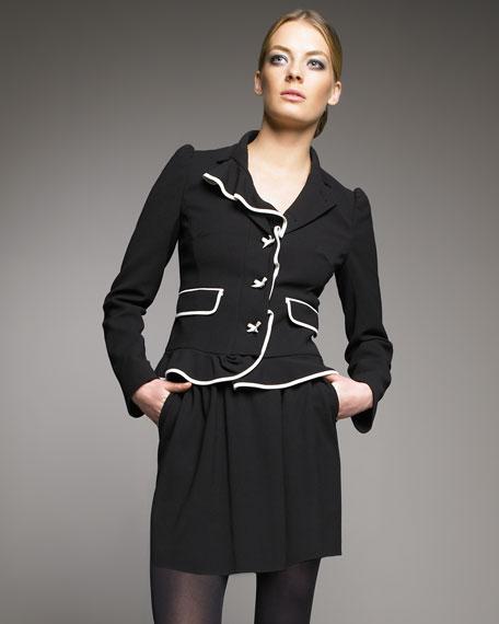 Gathered-Waist Skirt