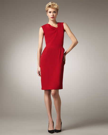 Knot-Neck Dress