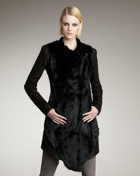 Flux Fur & Leather Jacket