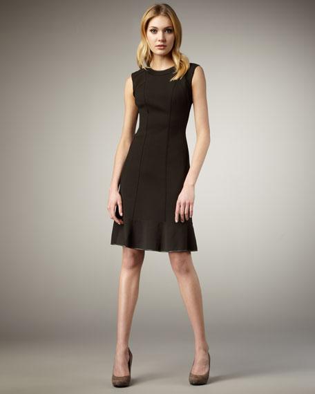 Violet A-Line Dress